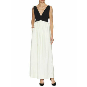 JILL JILL STUART Ball Gown Maxi Dress V-Neck Sz 4